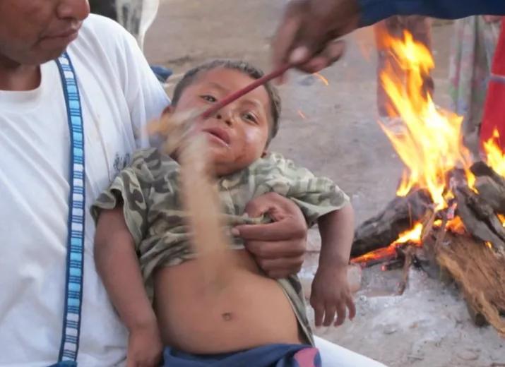 Aide d'urgence Covid19 au village huichol de La Laguna